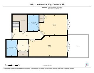 Photo 25: 104 121 Kananaskis Way: Canmore Row/Townhouse for sale : MLS®# A1146228