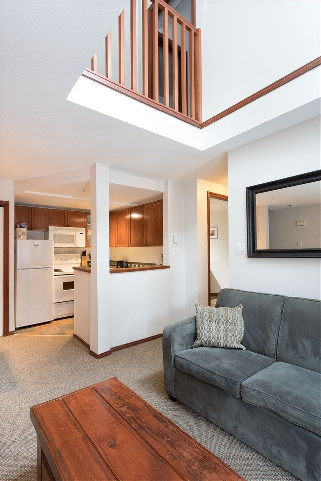 Photo 4: Photos: 109 4388 NORTHLANDS BOULEVARD in Whistler: Whistler Village Townhouse for sale : MLS®# R2249101
