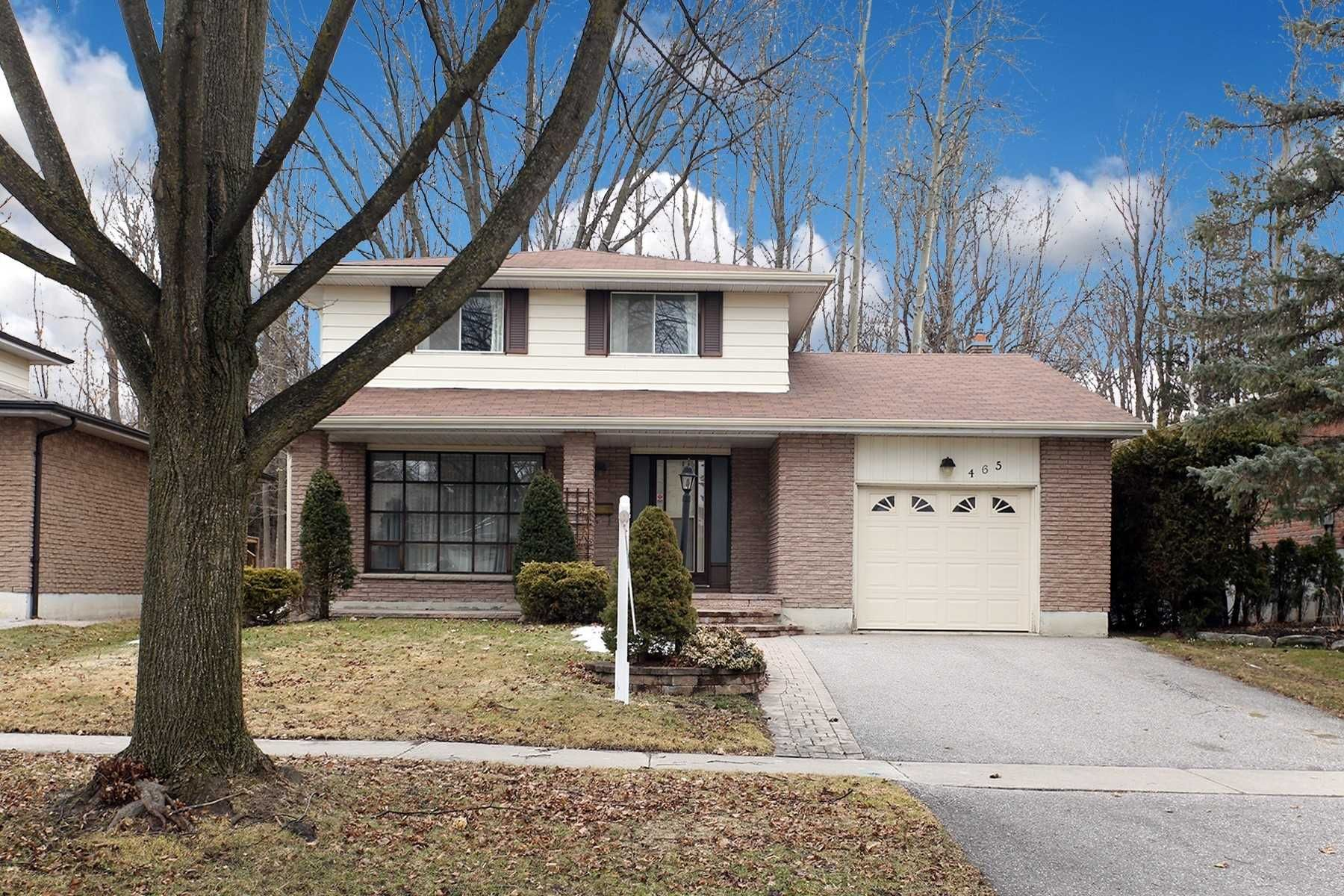 Main Photo: 465 Paddington Crescent in Oshawa: Centennial House (2-Storey) for sale : MLS®# E4719052
