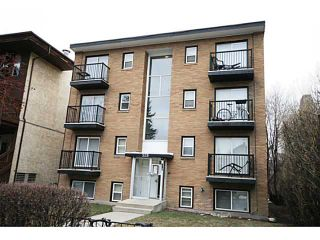 Photo 1: 308 528 20 Avenue SW in CALGARY: Cliff Bungalow Condo for sale (Calgary)  : MLS®# C3562454