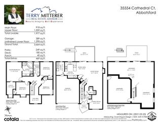 """Photo 40: 35554 CATHEDRAL Court in Abbotsford: Abbotsford East House for sale in """"McKinley Heights"""" : MLS®# R2584174"""