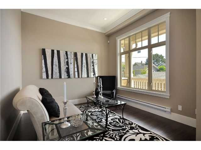 """Main Photo: 4 3828 PENDER Street in Burnaby: Vancouver Heights Townhouse for sale in """"""""The Heights"""""""" (Burnaby North)  : MLS®# V906615"""