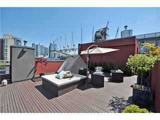 """Photo 8: PH1 869 BEATTY Street in Vancouver: Downtown VW Condo for sale in """"THE HOOPER BUILDING"""" (Vancouver West)  : MLS®# V888505"""