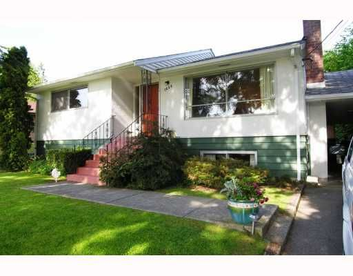 Main Photo: 1266 SHERLOCK Avenue in Burnaby: Sperling-Duthie House for sale (Burnaby North)  : MLS®# V768956