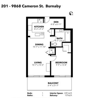 """Photo 12: 201 9868 CAMERON Street in Burnaby: Sullivan Heights Condo for sale in """"SILHOUETTE"""" (Burnaby North)  : MLS®# R2239562"""
