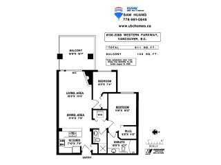 """Photo 16: 106 2388 WESTERN Parkway in Vancouver: University VW Condo for sale in """"WESTCOTT COMMONS"""" (Vancouver West)  : MLS®# V1105494"""