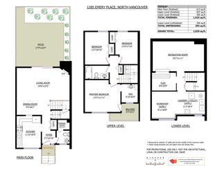 """Photo 21: 1285 EMERY Place in North Vancouver: Lynn Valley Townhouse for sale in """"YORKWOOD PARK"""" : MLS®# R2583782"""