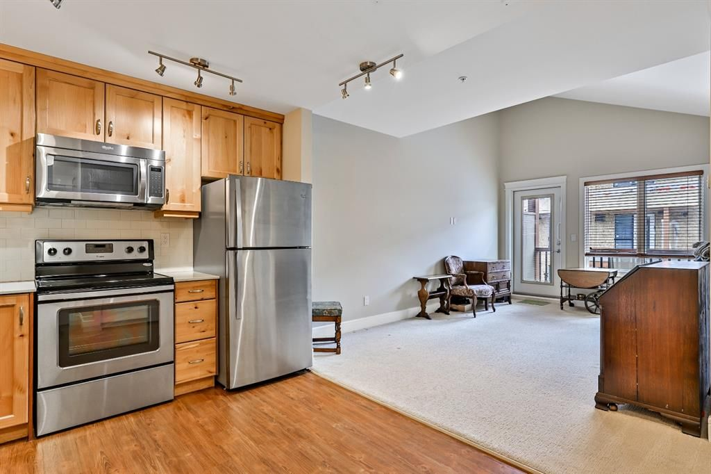 Main Photo: 325 808 Spring Creek Drive: Canmore Apartment for sale : MLS®# A1102446