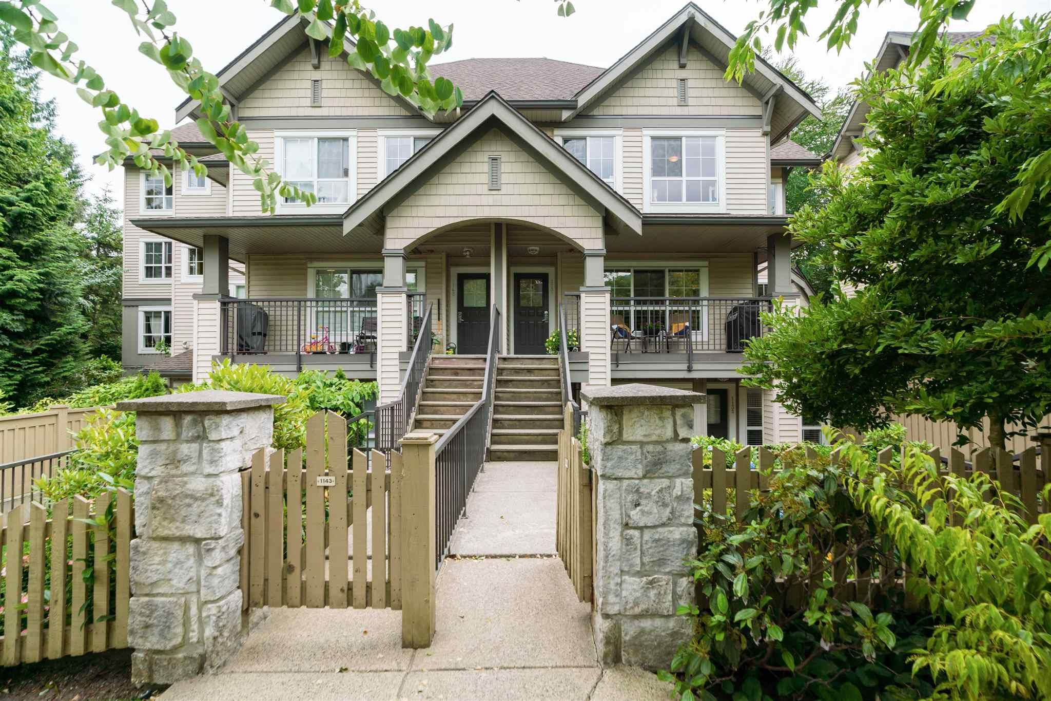 Main Photo: 1139 ROSS ROAD in North Vancouver: Lynn Valley Townhouse for sale : MLS®# R2601894