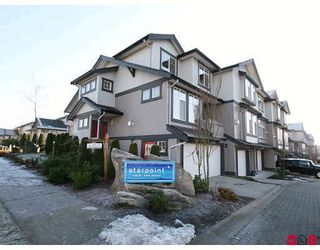 """Photo 1: 33 18828 69TH Avenue in Surrey: Clayton Townhouse for sale in """"STARPOINT"""" (Cloverdale)  : MLS®# F2901097"""