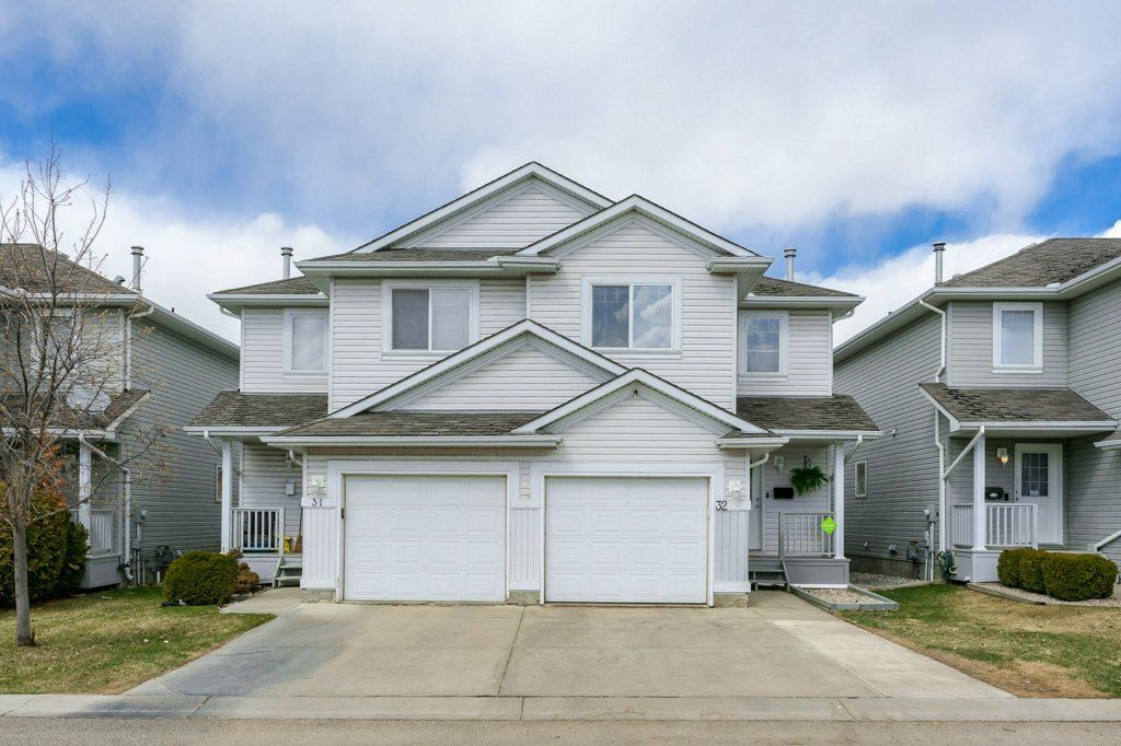 Main Photo: 32 13403 CUMBERLAND Road NW in Edmonton: Zone 27 House Half Duplex for sale : MLS®# E4240768