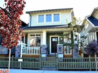 Photo 1: 138 172A Street in South Surrey White Rock: Pacific Douglas Home for sale ()  : MLS®# F1122503