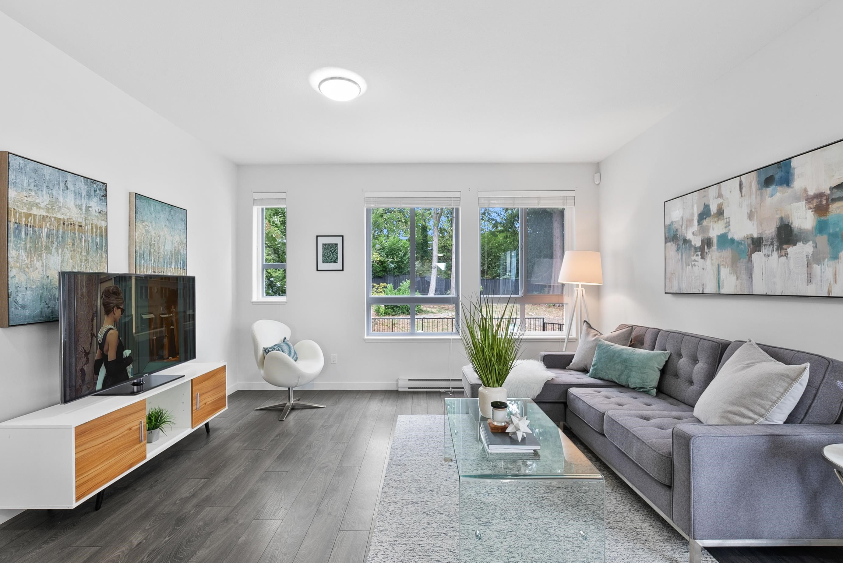 """Main Photo: 91 14555 68 Avenue in Surrey: East Newton Townhouse for sale in """"Sync"""" : MLS®# R2611729"""