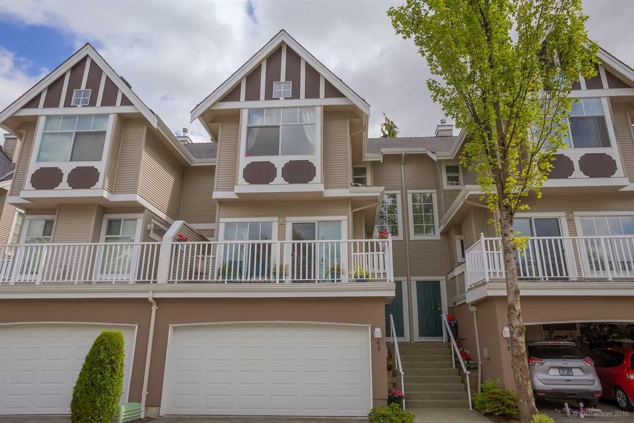 "Main Photo: 60 7488 MULBERRY Place in Burnaby: The Crest Townhouse for sale in ""SIERRA RIDGE IN THE CREST BBY"" (Burnaby East)  : MLS®# R2085053"