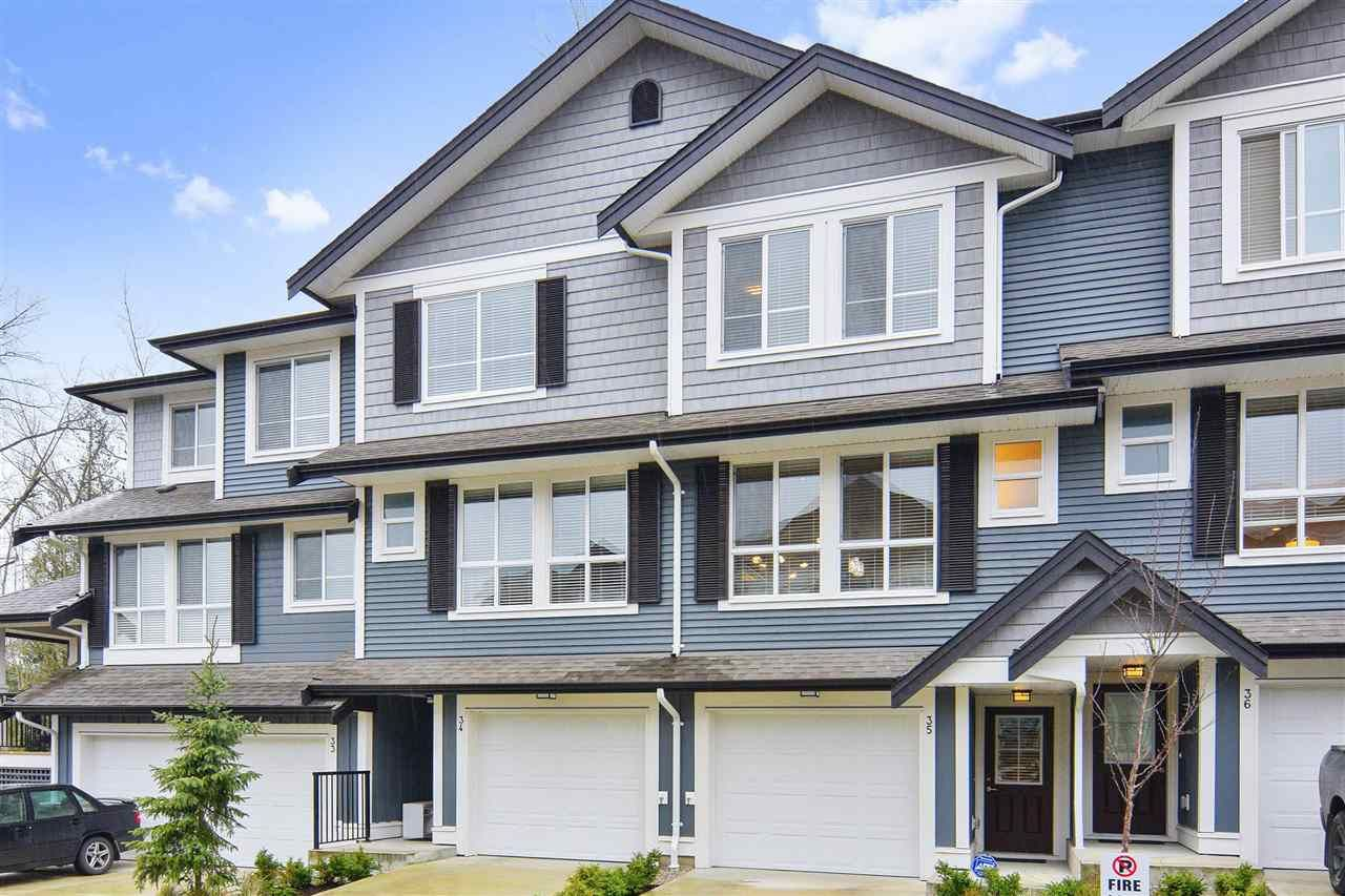 Main Photo: 35- 7157 210 ST in Lanlgey: Willoughby Heights Townhouse for sale (Langley)  : MLS®# R2238121