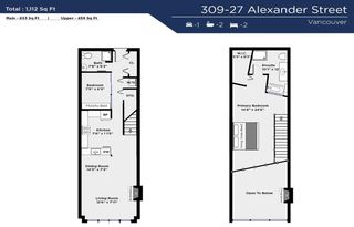 """Photo 40: 309 27 ALEXANDER Street in Vancouver: Downtown VE Condo for sale in """"ALEXIS"""" (Vancouver East)  : MLS®# R2584702"""