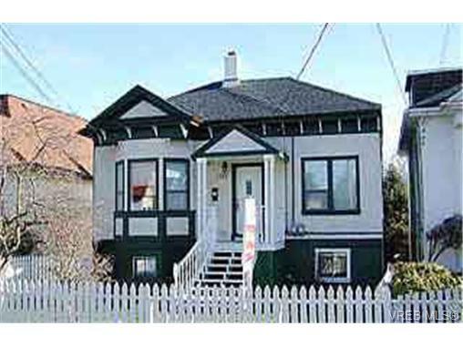 Main Photo: 1715 Fernwood Rd in VICTORIA: Vi Fernwood Full Duplex for sale (Victoria)  : MLS®# 228757