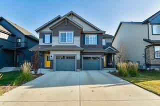 Photo 35: 3809 CHRUSTAWKA Place in Edmonton: Zone 55 House Half Duplex for sale : MLS®# E4265475