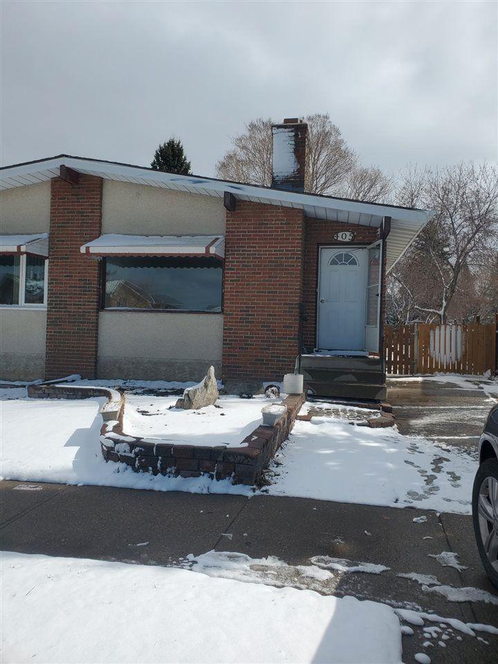 Main Photo: 405 MILLBOURNE Road E in Edmonton: Zone 29 House Half Duplex for sale : MLS®# E4238189