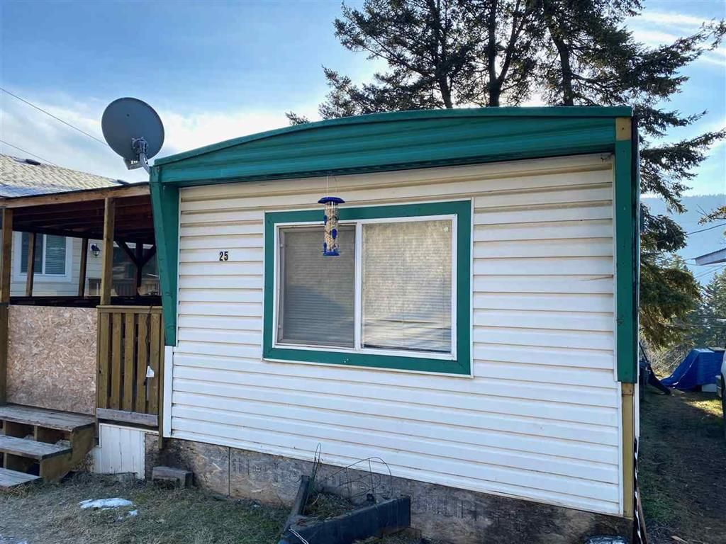 Main Photo: 25 560 Soda Creek Road in Williams Lake: Manufactured Home for sale : MLS®# R2526857