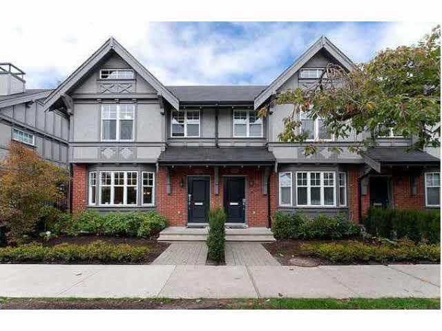 Main Photo: 5631 WILLOW STREET in : Cambie Townhouse for sale (Vancouver West)  : MLS®# V1110961