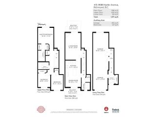 """Photo 17: 13 9688 KEEFER Avenue in Richmond: McLennan North Townhouse for sale in """"CHELSEA ESTATES"""" : MLS®# R2319779"""
