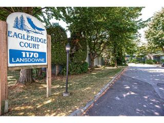 "Photo 1: 3 1170 LANSDOWNE Drive in Coquitlam: Eagle Ridge CQ Townhouse for sale in ""EAGLE RIDGE COURT"" : MLS®# V1129542"