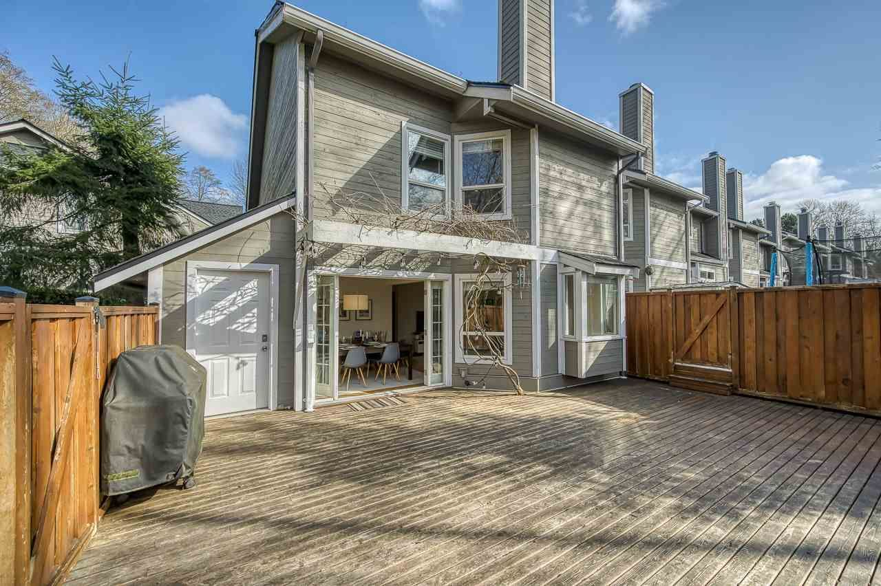 """Main Photo: 3408 WEYMOOR Place in Vancouver: Champlain Heights Townhouse for sale in """"Moorpark"""" (Vancouver East)  : MLS®# R2559017"""