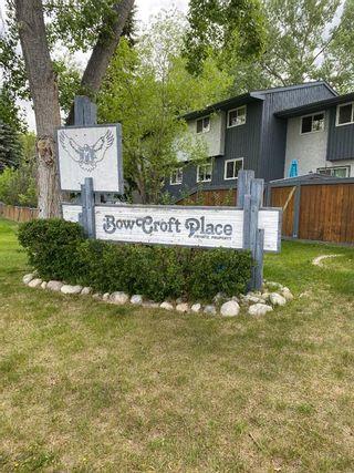 Photo 1: 13 800 Bowcroft Place: Cochrane Row/Townhouse for sale : MLS®# A1151939