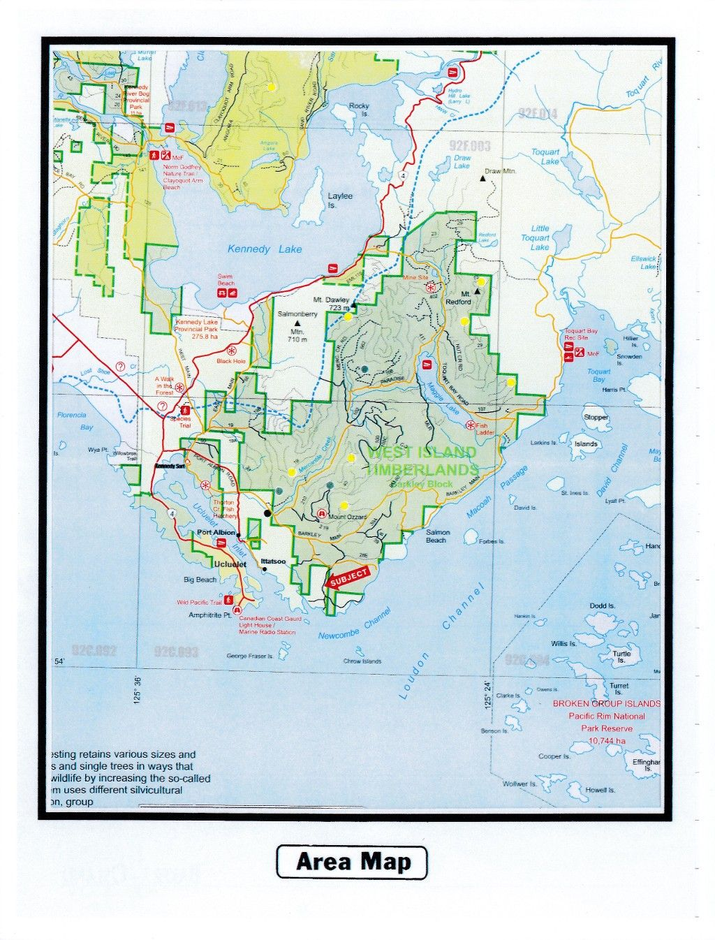 Main Photo: Lot 7 Newcombe Channel in Ucluelet: Land  (Ucluelet, B. C.)