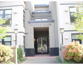 """Photo 1: 214 3760 W 6TH Avenue in Vancouver: Point Grey Condo for sale in """"MAYFAIR HOUSE"""" (Vancouver West)  : MLS®# V706811"""