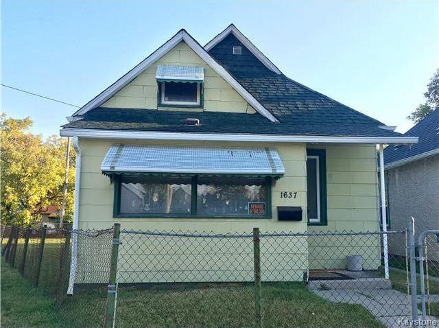 FEATURED LISTING: 1637 Ross Avenue West Winnipeg