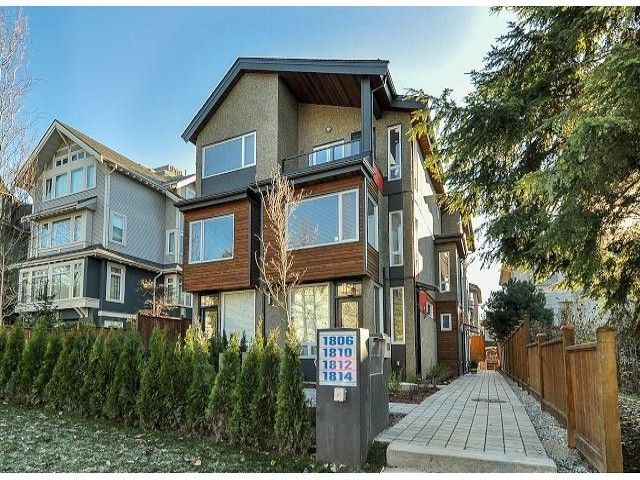 """Main Photo: 1814 E PENDER Street in Vancouver: Hastings Townhouse for sale in """"AZALEA HOMES"""" (Vancouver East)  : MLS®# V1051710"""