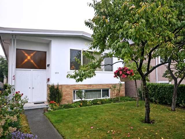 Main Photo: 325 E WOODSTOCK Avenue in Vancouver: Main House for sale (Vancouver East)  : MLS®# V976720