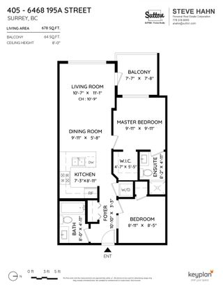 """Photo 18: 405 6468 195A Street in Surrey: Clayton Condo for sale in """"YALE BLOC"""" (Cloverdale)  : MLS®# R2616487"""