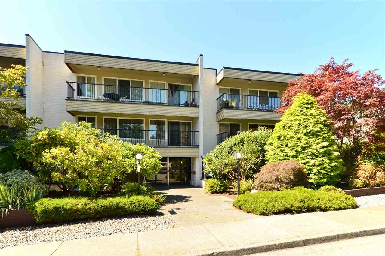 """Main Photo: 106 1351 MARTIN Street: White Rock Condo for sale in """"The Dogwood"""" (South Surrey White Rock)  : MLS®# R2186058"""