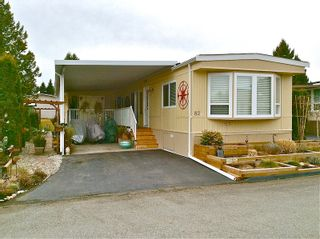 """Photo 1: 82 15875 20TH Avenue in Surrey: King George Corridor Manufactured Home for sale in """"SEA RIDGE BAYS"""" (South Surrey White Rock)  : MLS®# F1405552"""