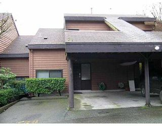 """Photo 1: 436 CAMBRIDGE Way in Port_Moody: College Park PM Townhouse for sale in """"ESTHILL"""" (Port Moody)  : MLS®# V677972"""