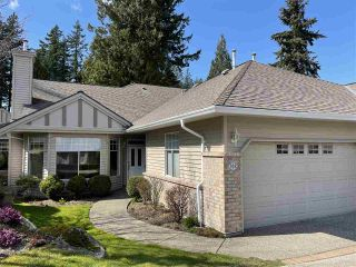 """Photo 1: 108 2533 152 Street in Surrey: Sunnyside Park Surrey Townhouse for sale in """"BISHOPS GREEN"""" (South Surrey White Rock)  : MLS®# R2557555"""