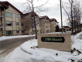 Photo 1: 307E 1780 Grant Av in Winnipeg: River Heights Condominium for sale (1D)  : MLS®# 1703121