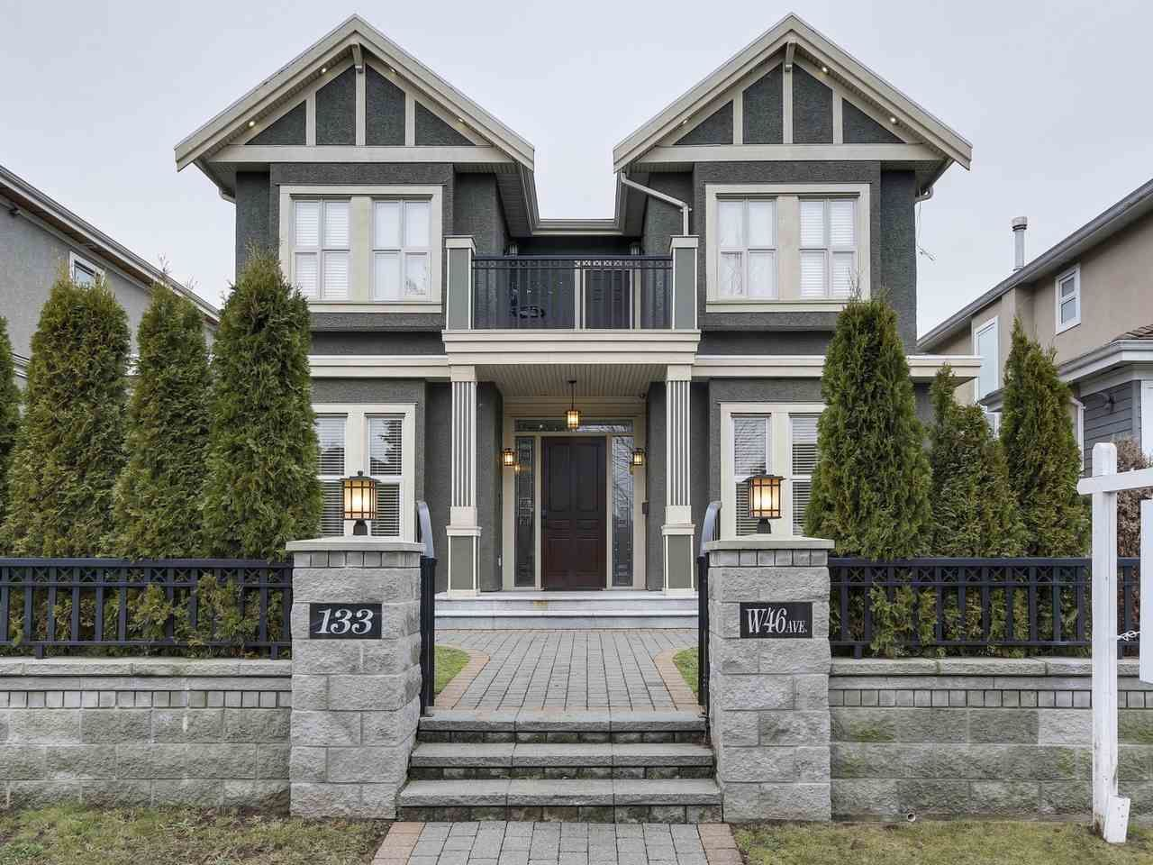 Main Photo: 133 W 46TH Avenue in Vancouver: Oakridge VW House for sale (Vancouver West)  : MLS®# R2133858
