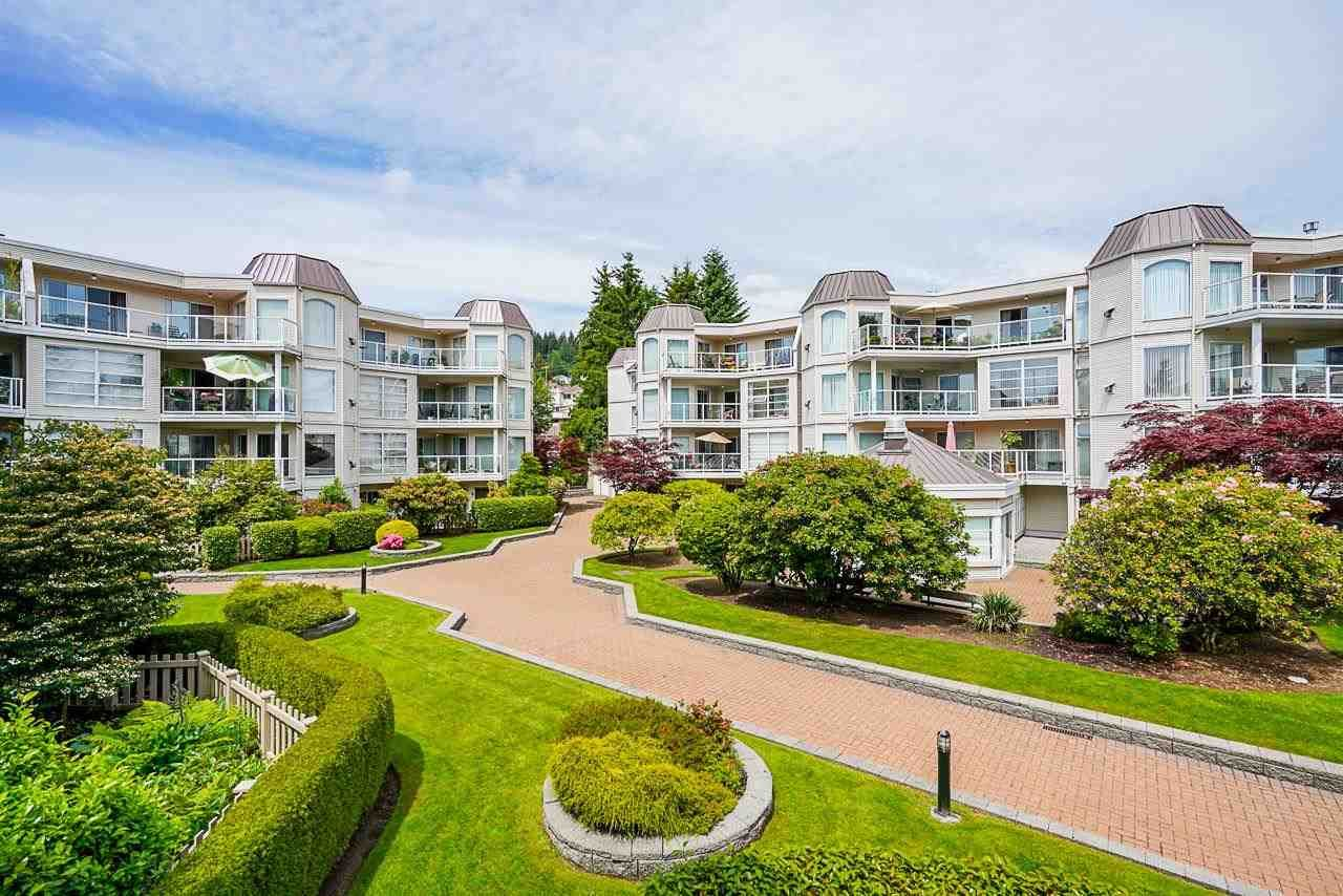 """Main Photo: 311 1219 JOHNSON Street in Coquitlam: Canyon Springs Condo for sale in """"MOUNTAINSIDE PLACE"""" : MLS®# R2589632"""