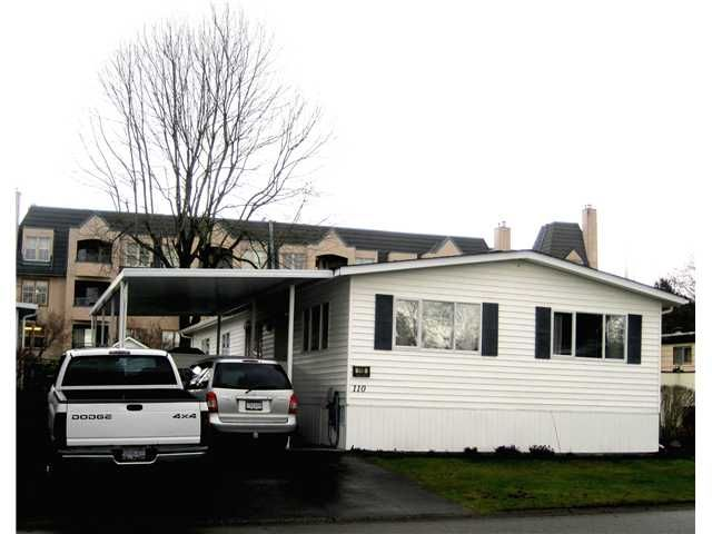 """Main Photo: 110 145 KING EDWARD Street in Coquitlam: Maillardville Manufactured Home for sale in """"Mill Creek Village"""" : MLS®# V988514"""