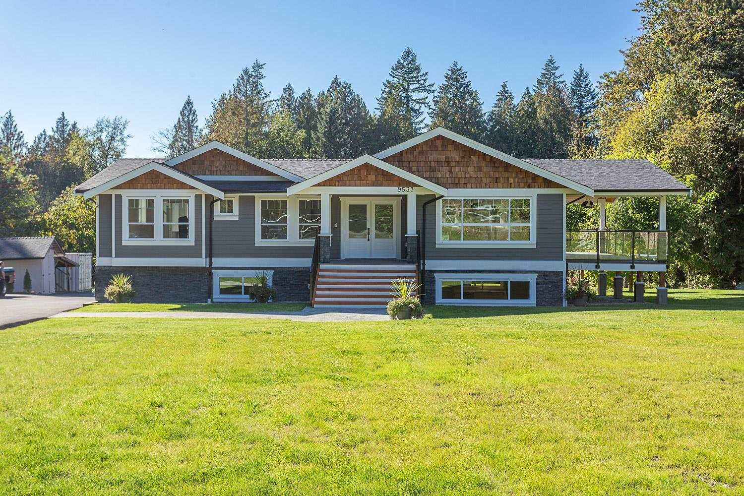 Main Photo: 9537 MANZER Street in Mission: Mission BC House for sale : MLS®# R2595692