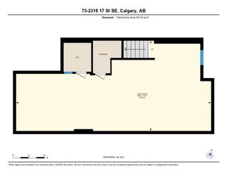Photo 37: 73 2318 17 Street SE in Calgary: Inglewood Row/Townhouse for sale : MLS®# A1098159
