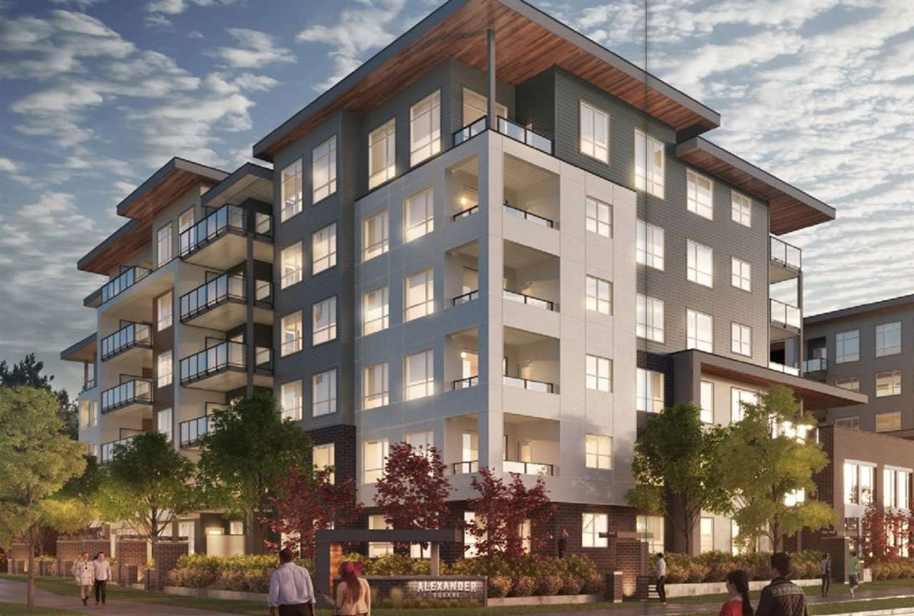 """Main Photo: A209 20867 80 Avenue in Langley: Willoughby Heights Condo for sale in """"Alexander Square"""" : MLS®# R2522028"""