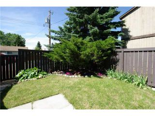Photo 14: 42 6103 MADIGAN Drive NE in CALGARY: Marlborough Park Townhouse for sale (Calgary)  : MLS®# C3503192
