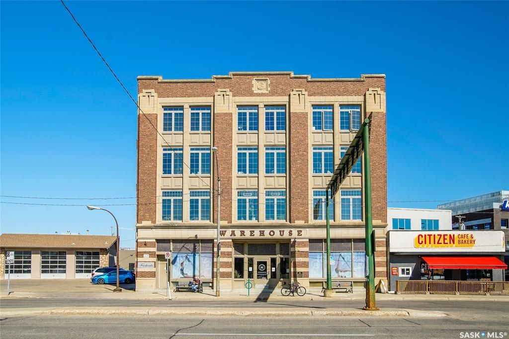 Main Photo: 404 12 23rd Street East in Saskatoon: Central Business District Residential for sale : MLS®# SK852084