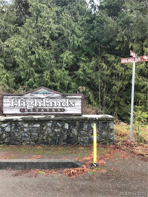 Main Photo: 668 SOUTHWOOD Dr in VICTORIA: Hi Eastern Highlands Land for sale (Highlands)  : MLS®# 749001