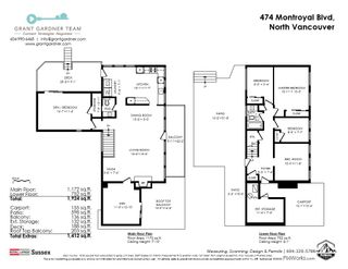 Photo 28: 474 MONTROYAL Boulevard in North Vancouver: Upper Delbrook House for sale : MLS®# R2481315